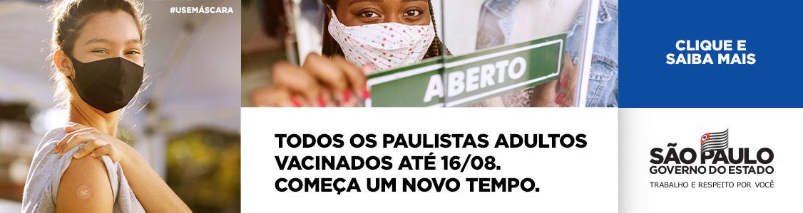 Campanha - Coronavírus – A Retomada da Economia do Estado de São Paulo – FASE II