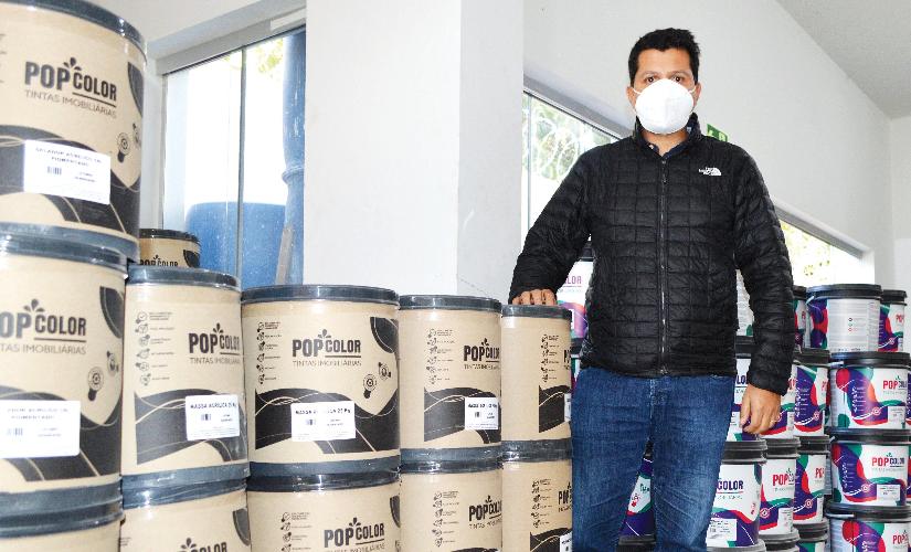 Santa Cruz ganha uma fábrica de tintas