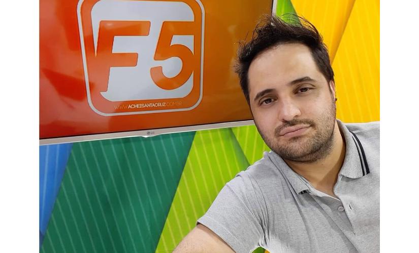 Morto aos 37, André Rúbio foi um dos precursores na era digital do jornalismo em Santa Cruz