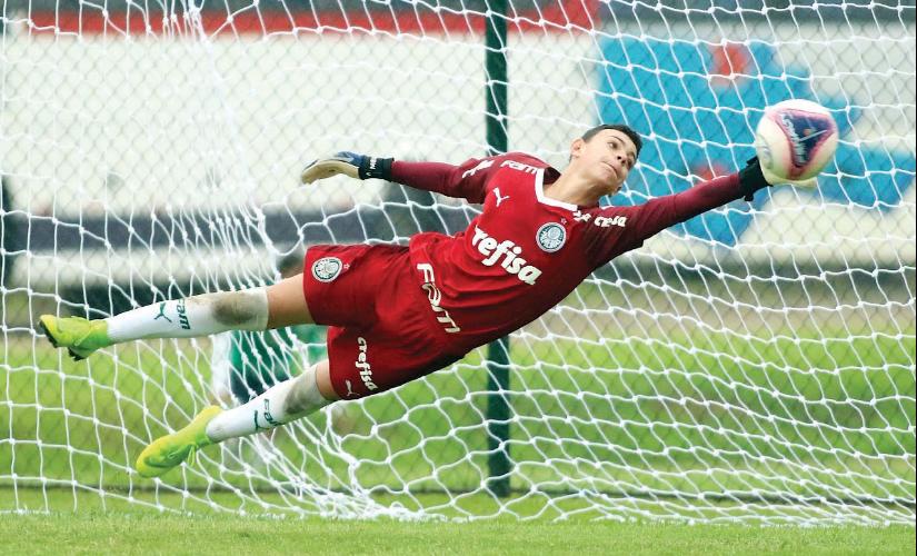 Nascido em Santa Cruz, goleiro de Espírito Santo é convocado para a seleção Sub-15