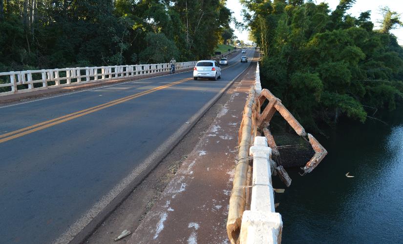 Obras da passarela devem começar em breve; ponte mais larga ainda demora
