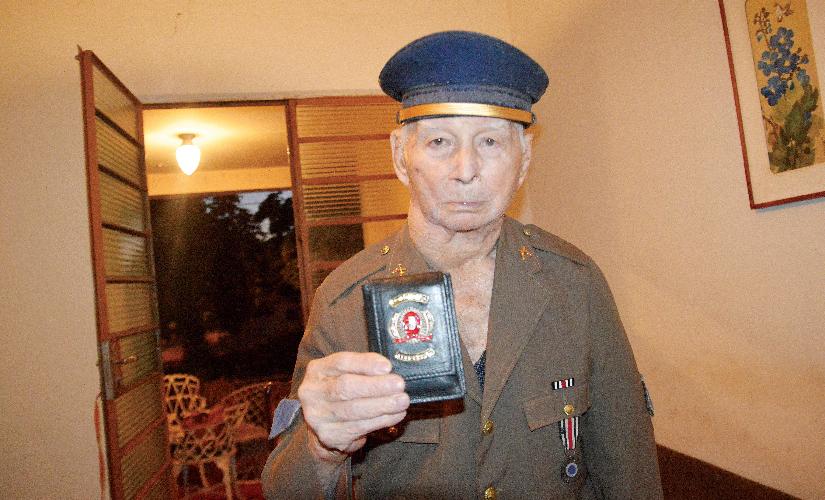 Morre aos 101 anos o mais antigo policial de Santa Cruz