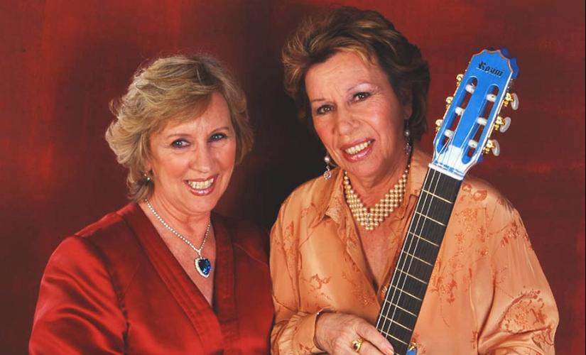 Irmãs Galvão, cuja dupla foi desfeita, nasceram na região