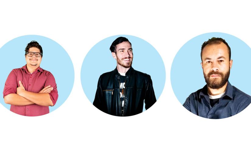 Mesa de negócios: três amigos apostam no marketing digital
