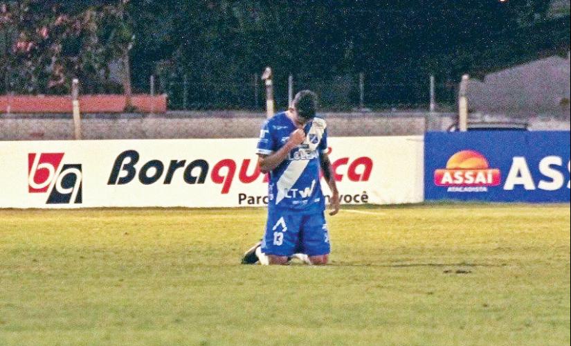 Santa-cruzense faz primeiro gol profissional no Paulistão