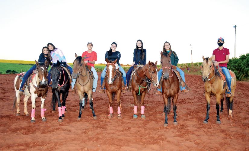 Pandemia não reduziu treinos de provas de cavalos