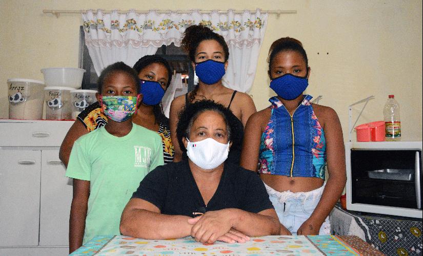 Famílias esperam pela volta do auxílio emergencial