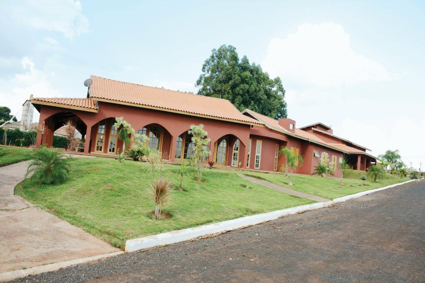 A sede da Fazenda da Esperança no distrito de Sodrélia