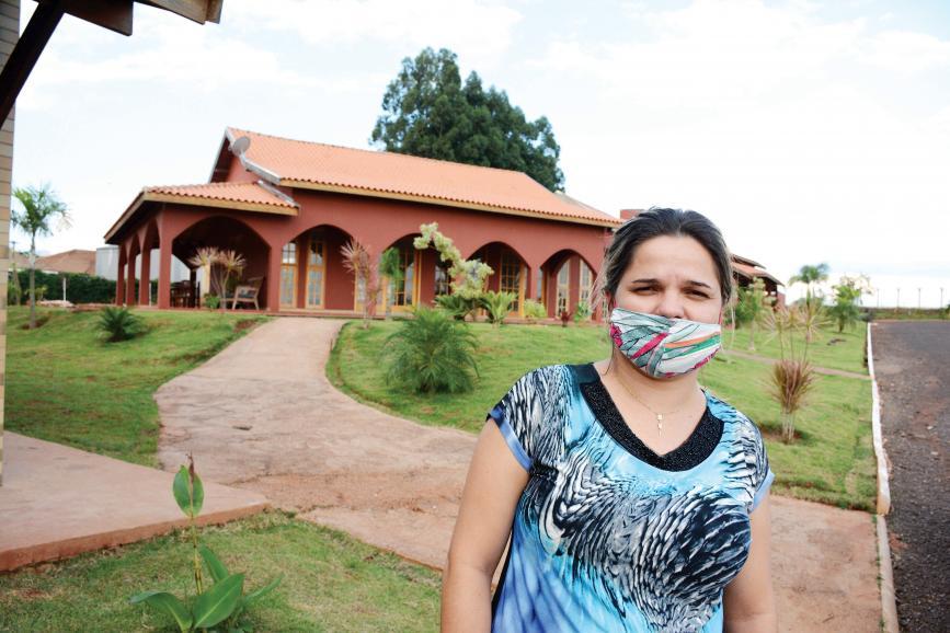 A missionária  Gabriela Alves da Silva