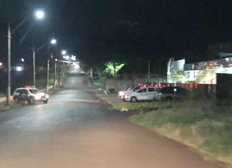 Polícia Militar chegou a ir ao local porque o município tem toque de recolher
