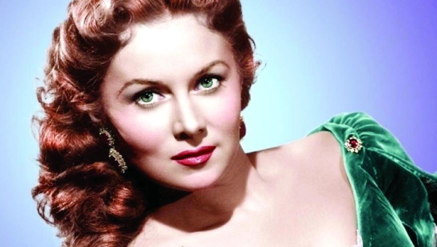 Rhonda foi considerada a mulher mais bela de Hollywood e viveu até o ano passado, com 97 anos