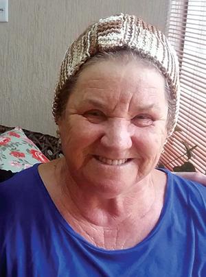 A aposentada Maria da Conceição Pereira Feitosa