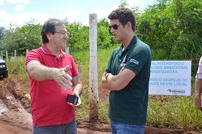 Otacílio discute com o secreteário estadual do Meio Ambiente, Ricardo Salles