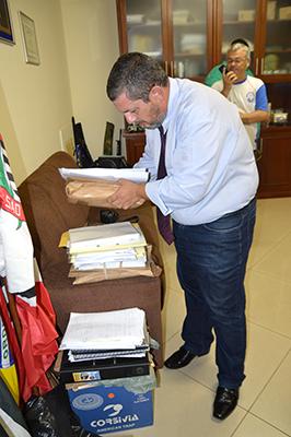 Delegado Mardegan já recebeu milhares de documentos