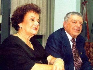 SANTA-CRUZENSES — Maria e Josué, que constituíram família em S. Cruz antes de se mudarem para Marília
