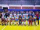 NOVA VITÓRIA — Na quadra do ginásio de esportes de Ipaussu, as meninas de Santa Cruz venceram Pederneiras por 3x0 e se classificaram