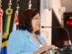 NO BOLSO — Maura foi multada pelo TCE, que julgou contrato irregular