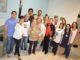 """Integrantes e colaboradores do """"Acorda Santa Cruz"""", durante solenidade de inauguração da biblioteca"""