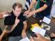 O prefeito Otacílio convocou a imprensa para anunciar mudanças de servidores e a continuidade de Gimenez na Codesan