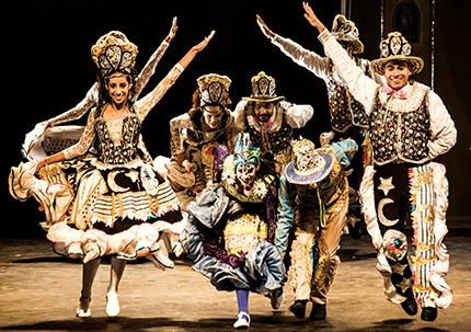 ALTO NÍVEL — Balé de Santa Cruz do Rio Pardo disputou festival com grupos do Brasil e de outros países