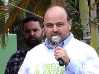 O deputado Ricardo Madalena tem projeto para barrar hidrelétricas
