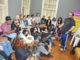 CULTURA— Com uma linguagem simples, Ferréz agradou ao público que compareceu à Biblioteca Municipal