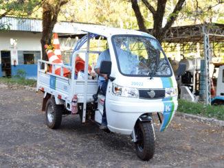 A Sabesp está enviando unidades do estranho (e útil) veículo às gerências de todo o interior de São Paulo