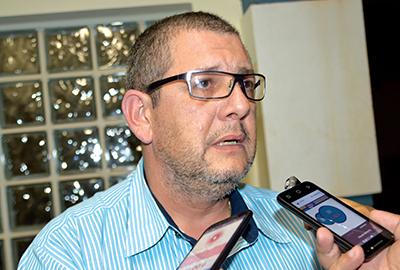 O delegado Renato Mardegan demonstrou um humor incomum