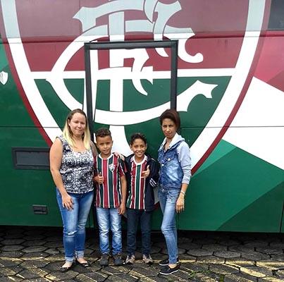 PROMESSAS — Cristian e Cauã estão sendo avaliados pelo Fluminense