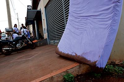 Móveis contaminados foram retirados das residências imediatamente