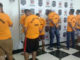 QUADRILHA — Presos na operação que envolveu 80 policiais são apresentados à imprensa em Londrina (PR)