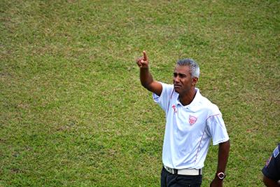 O TÉCNICO — Claudinho Batista será o comandante do time em 2018
