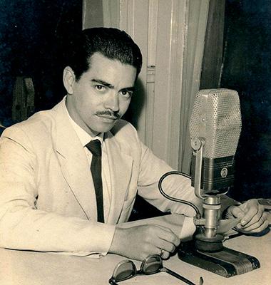 Hebal foi radialista e diretor da antiga ZYQ-8 de Santa Cruz do Rio Pardo