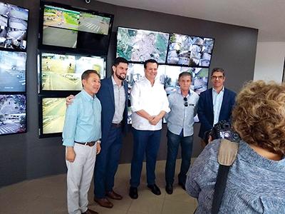Em janeiro, Kassab visitou a Service em Ourinhos com o prefeito Pocay