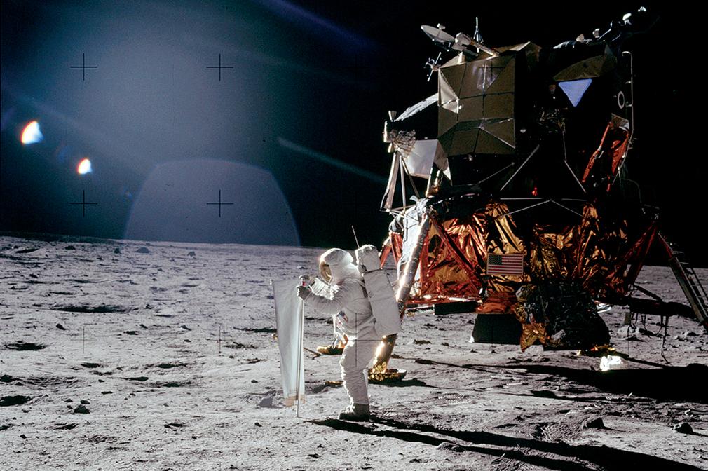 No mundo da lua!