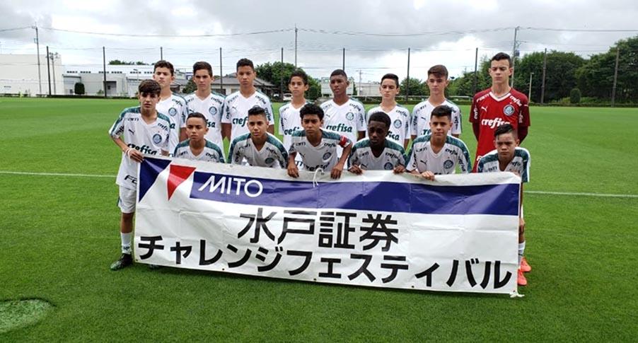 Ex-CAS, goleiro santa-cruzense de 13 anos é campeão no Japão