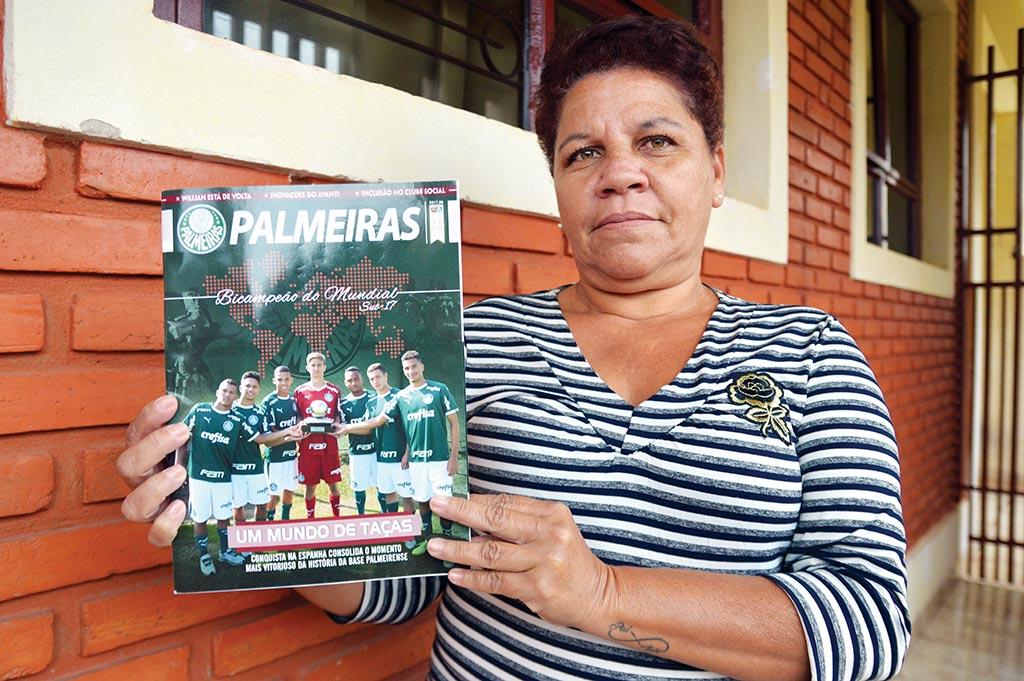 Funeral do 'Zé da Beata' é destaque na revista do Palmeiras