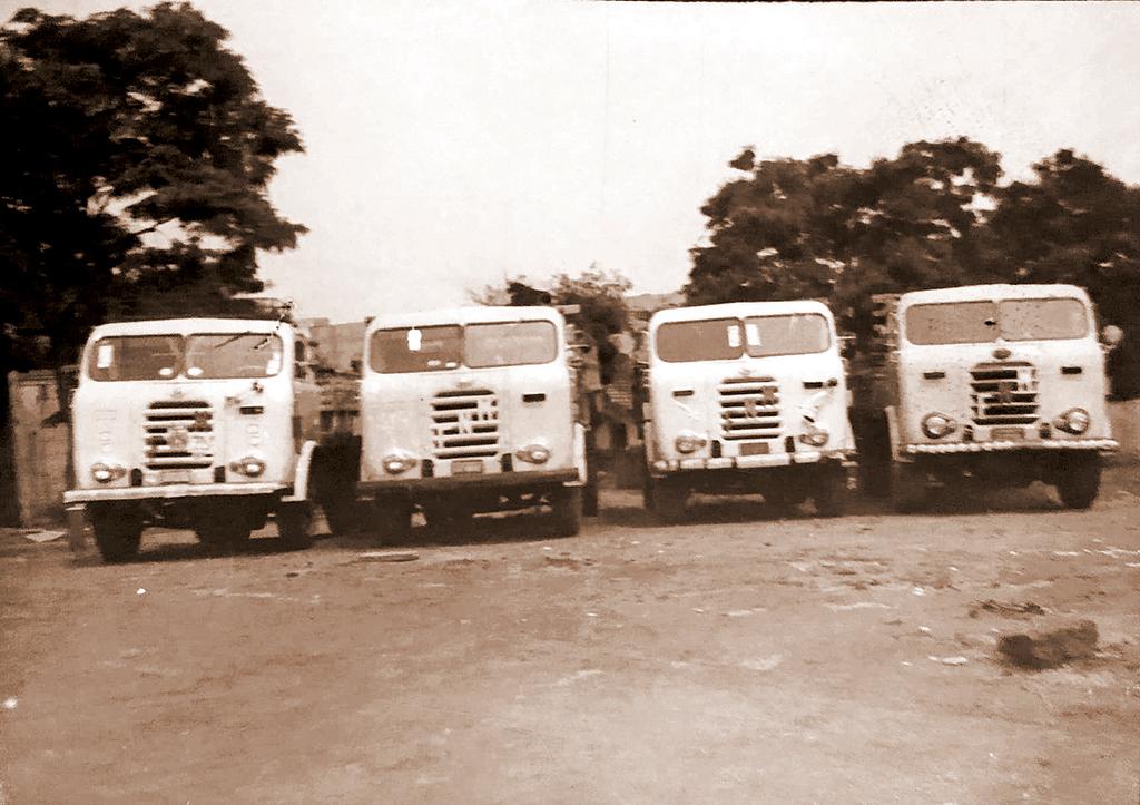 Memória: A frota de FNM de 'Lilo Longo'