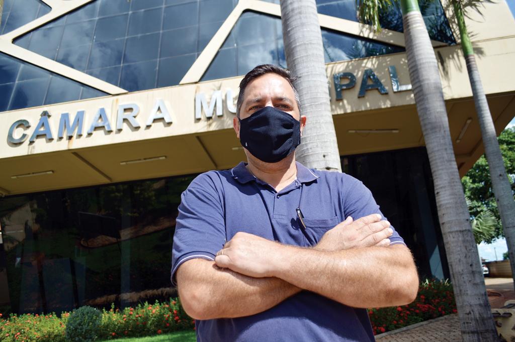 Cristiano Tavares chegou à Câmara de Santa Cruz após três eleições